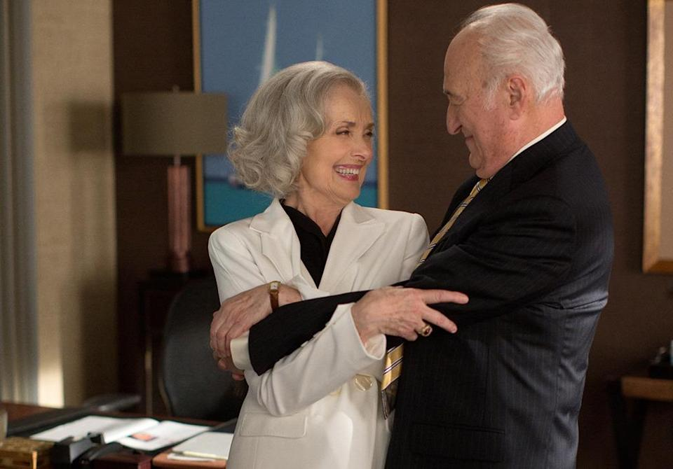 <p>Could it be the series' happiest ending is reserved for Jackie and nap-loving firm relic Howard Lyman (Jerry Adler)?<i> (Credit: Thomas Concordia/CBS)</i></p>