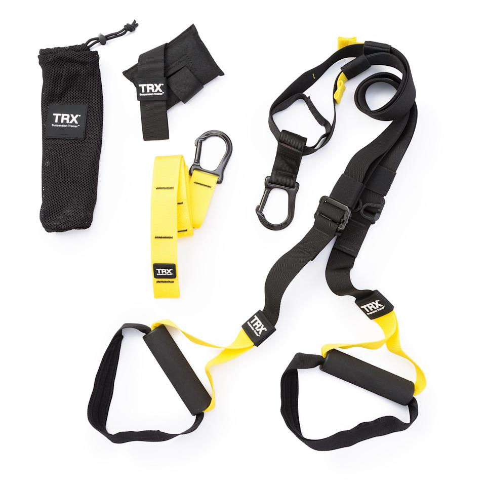 "<p><strong>TRX</strong></p><p>huckberry.com</p><p><strong>$150.00</strong></p><p><a href=""https://go.redirectingat.com?id=74968X1596630&url=https%3A%2F%2Fhuckberry.com%2Fstore%2Ftrx%2Fcategory%2Fp%2F49587-trx-original-strong-system&sref=https%3A%2F%2Fwww.womenshealthmag.com%2Flife%2Fg33501922%2Funique-gift-ideas-for-men%2F"" rel=""nofollow noopener"" target=""_blank"" data-ylk=""slk:Shop Now"" class=""link rapid-noclick-resp"">Shop Now</a></p><p>For dudes longing for a fully equipped gym of their very own, look no further than the portable and packable TRX Original Strong System.<br></p>"