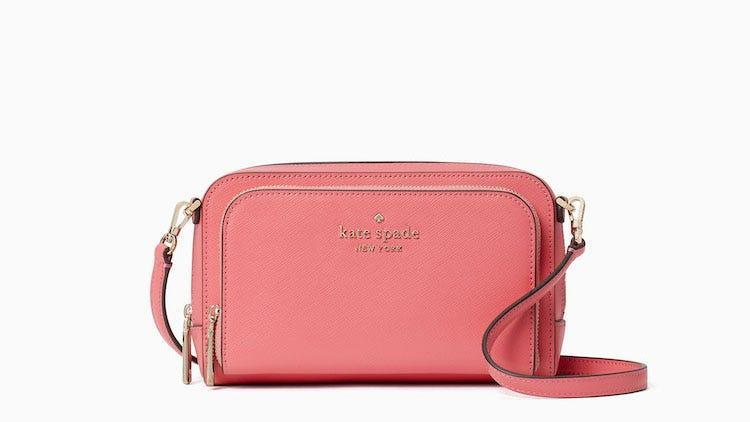 Choose from one of two neutral colors in this top-rated crossbody.