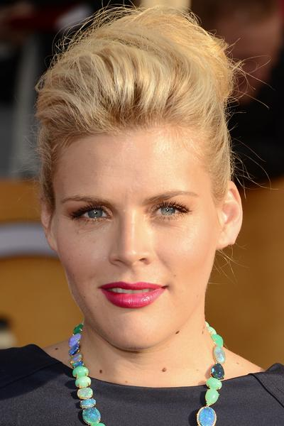 "<div class=""caption-credit"">Photo by: Getty</div><div class=""caption-title"">Voluminous Updo</div>To keep her look from falling flat, Busy Phillips teased the front portion of her hair before pulling the rest into an updo. Make sure to prep hair with a root volumizing spray first, like Aveda Volumizing Tonic ($9.50, aveda.com). <br>"