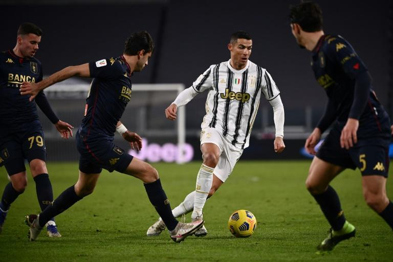 Cristiano Ronaldo is the top scorer in Serie A with 15 goals.