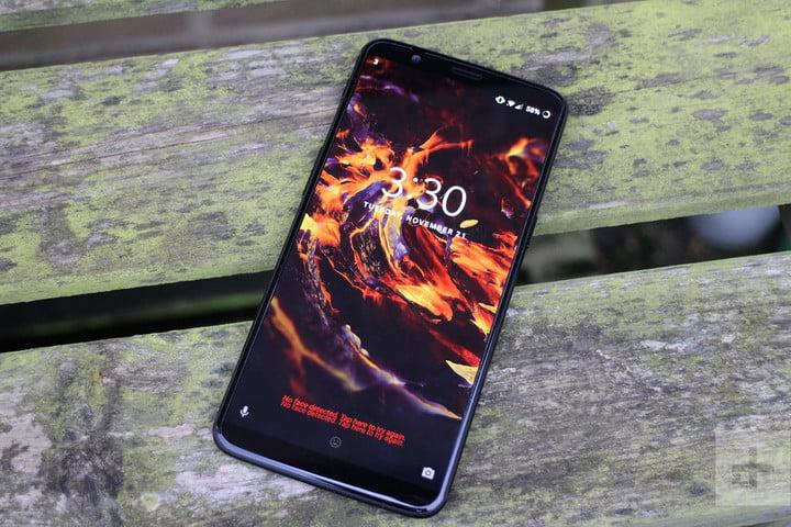 oneplus 5t review bench