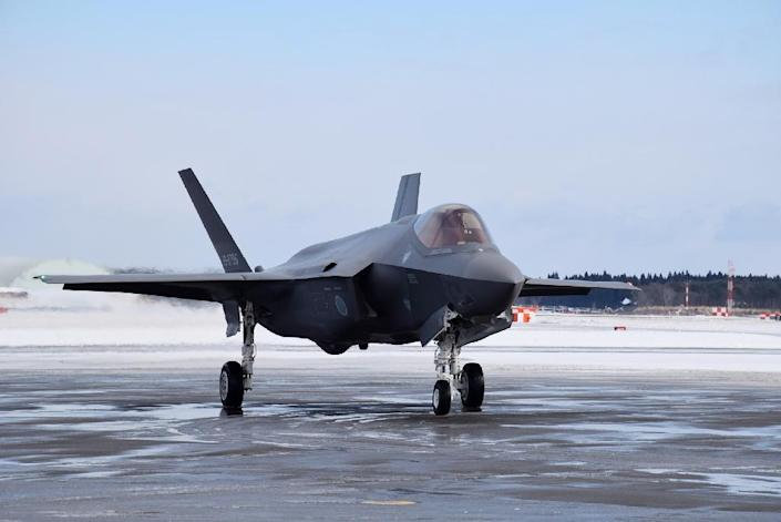The F35-A is a state of the art stealth plane (AFP Photo/-)
