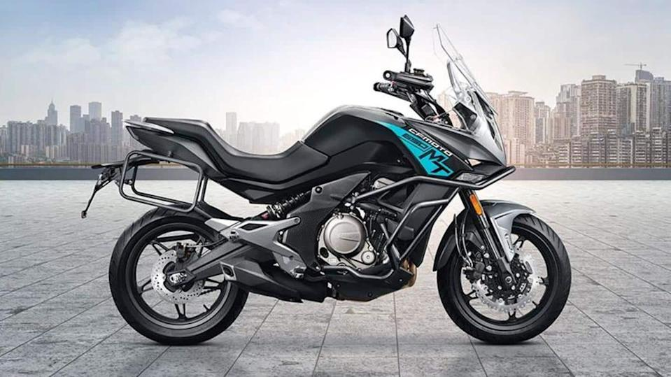 CFMoto to unveil its 800MT adventure motorbike in two versions