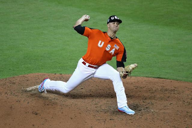 Cardinals No. 3 prospect Jack Flaherty made his MLB debut against the Giants on Friday night. (AP)