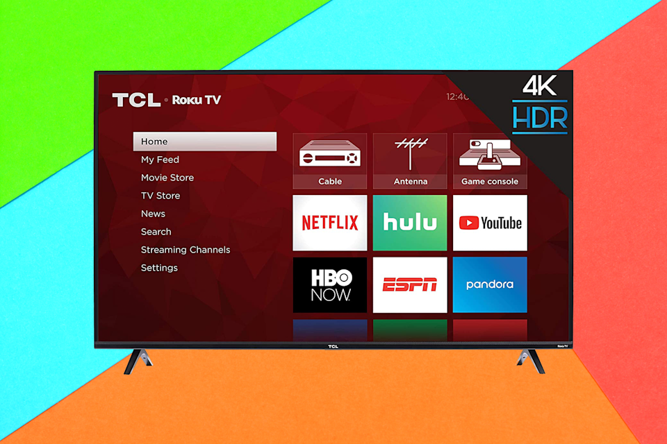 Save 31 percent on this TCL 43-inch 4K Smart LED Roku TV. (Photo: Amazon)