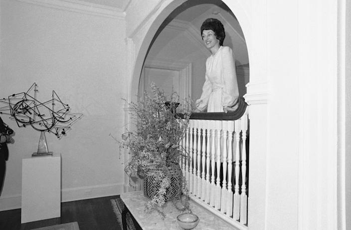 Joan Mondale at the vice president's official residence