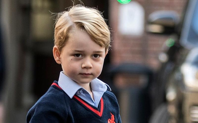 Prince George has shown an interest in policing, his father said - Times Newspapers Ltd