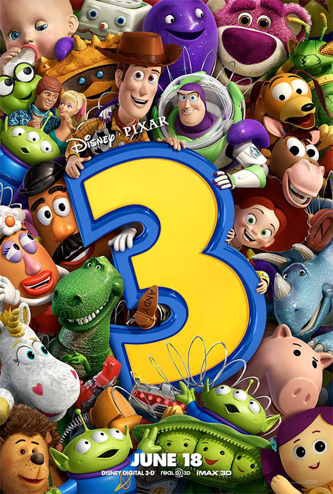 "The Best:  <a href=""http://movies.yahoo.com/movie/1809266566/info"">TOY STORY 3</a>    The gang's all here! A vibrant, fun teaser for Pixar's third and final Toy Story adventure. Note even the Pixar ball in the top right corner."