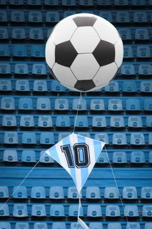 A 'Cosmic Kite' was also released, in reference to Maradona's 'Hand of God' goal against England in the 1986 World Cup