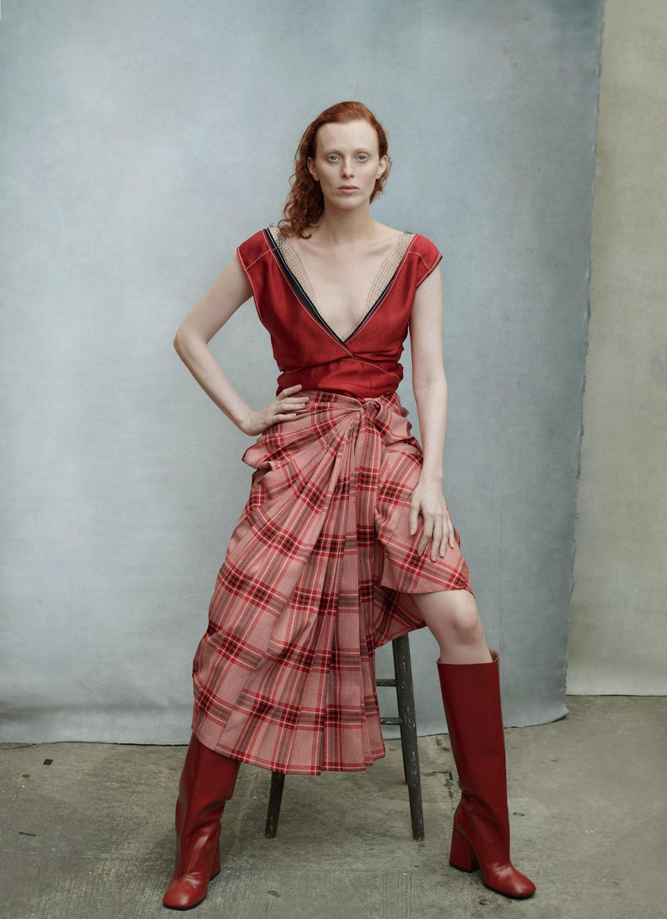 """<cite class=""""credit"""">Photographed by Annie Leibovitz, Vogue, August 2019</cite>"""