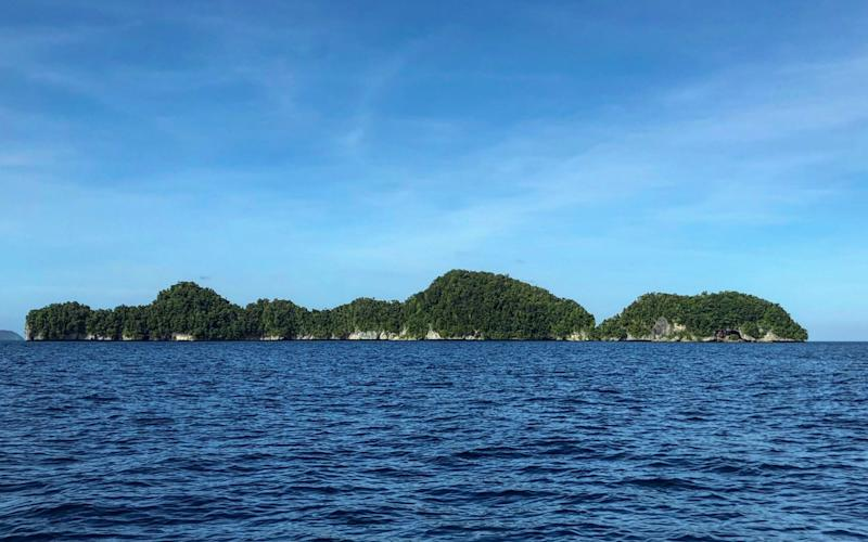 Palau is a small Pacific-island nation that sits 930 miles east of the Philippines - MIKHAIL FLORES /AFP