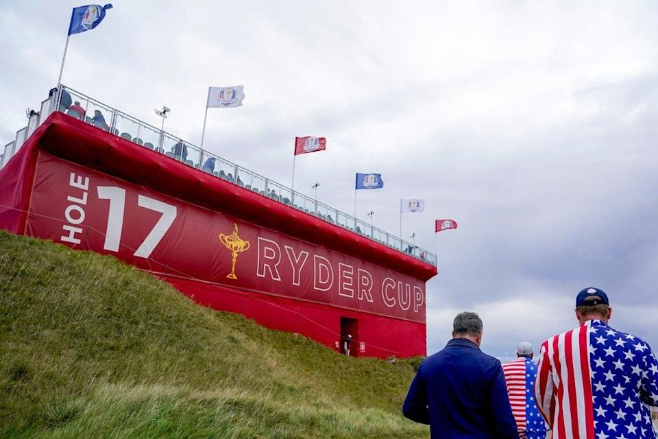 The Ryder Cup begins with Friday foursomes (Jeff Roberson/AP) (AP)