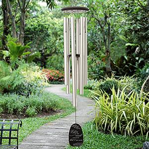 Listen To The Wind Personalized Memorial Wind Chimes