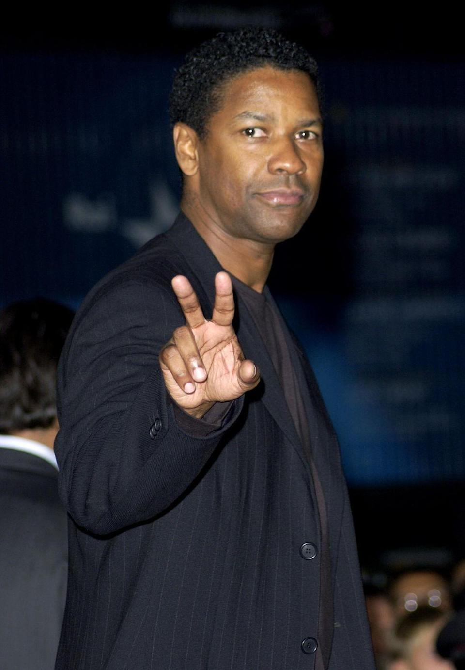 <p>Denzel Washington is known for serious, dramatic roles—and for starring in one hit after another. His 2001 film <em>Training Day</em> was released shortly after another big hit: <em>Remember the Titans</em>.</p>