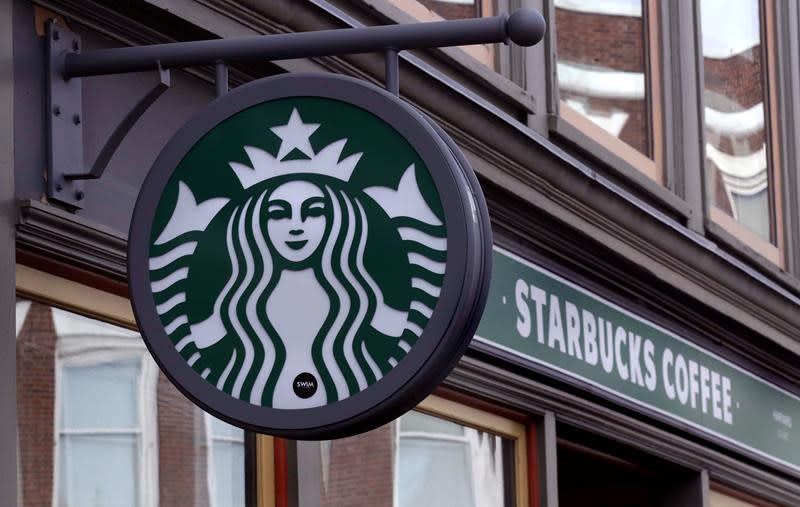 Starbucks says it sees better times ahead as stores reopen