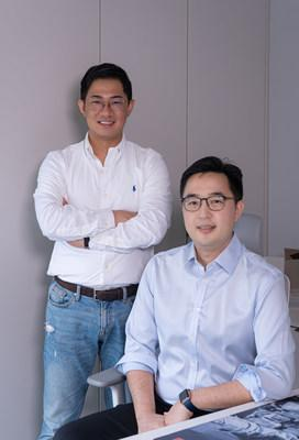 N.THING CEO & Founder Leo Kim (left) and CFO, Chris Lee (right).