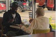 <p>Without question, one of the top five moments of 2018. A 70-year-old woman in Indiana sees a man eating breakfast alone at a McDonald's and asks to join him. The strangers shared a meal and a side of viral fame.</p>