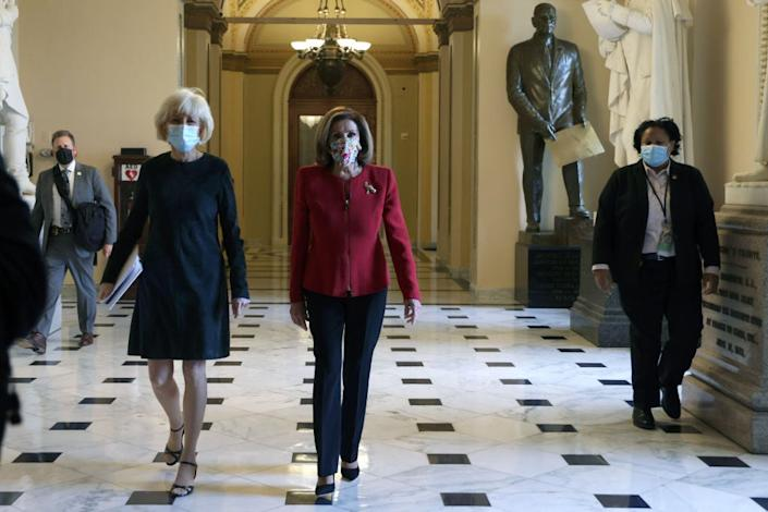 Speaker Nancy Pelosi does not intend to let Donald Trump and Republicans get away with sedition and inciting an insurrection without forcing votes on their actions. (Getty Images)
