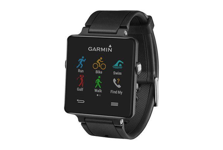 """<p><strong>Garmin Vivoactive<br></strong>Track everything on this all-sport Garmin.<br>$115   Amazon</p><p><a class=""""body-btn-link"""" href=""""https://www.amazon.com/gp/product/B00RE1UL52/ref=as_li_tl"""" target=""""_blank"""">Buy Now</a> <br></p>"""
