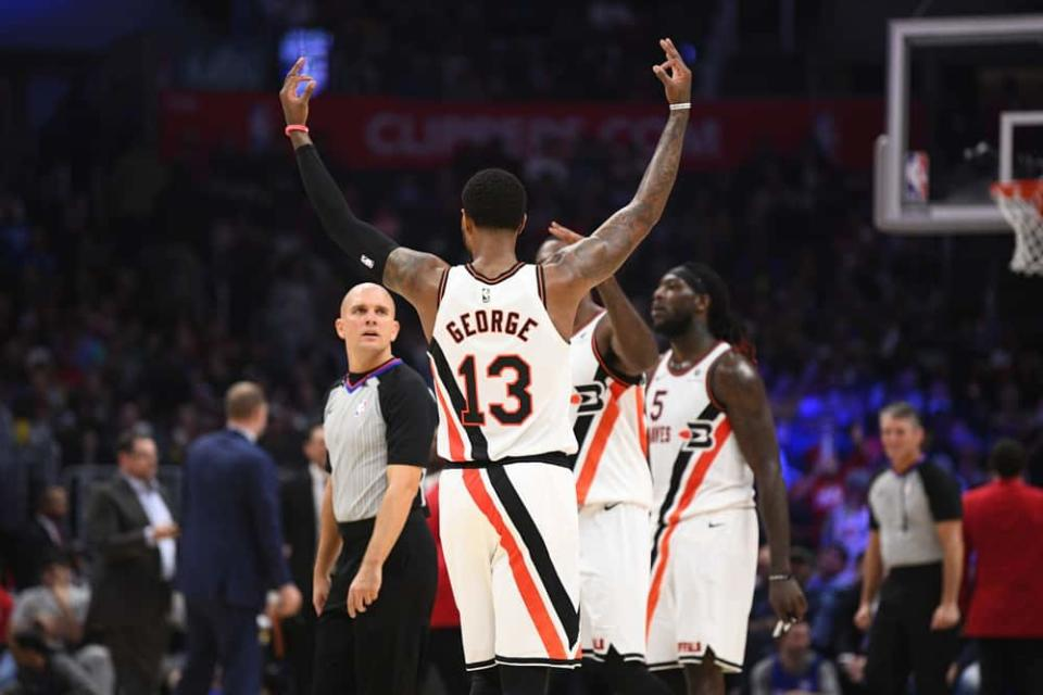 EMac gives his favorite NBA DFS picks for Yahoo, DraftKings + FanDuel daily fantasy basketball lineups, including Paul George | 6/10/21