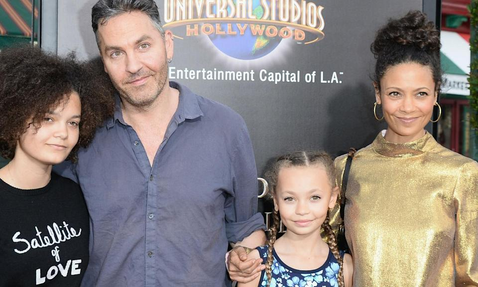 <p>Nico (centre right) is the 13-year-old daughter of Thandie Newton and producer Ol Parker who has lucked out by landing her debut acting role in the Disney live-action remake of Dumbo . She'll play one of the children of Colin Farrell's Holt Carrier, Dumbo's carer and trainer at the circus, in the movie directed by Tim Burton. The movie isn't out until 2019 but she may well land some new roles in the time between. </p>