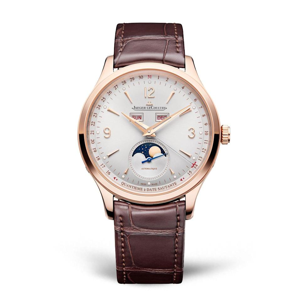 "<p>Inspired by the classic round watches of 1950s, Jaeger-LeCoultre updated its signature style with robust movements enhanced with a power reserve of up to 70 hours, and a clean silvery white dial with refined details. <em>($11,000)</em></p><p><a class=""link rapid-noclick-resp"" href=""http://www.jaeger-lecoultre.com/"" rel=""nofollow noopener"" target=""_blank"" data-ylk=""slk:Learn More"">Learn More</a><br></p>"