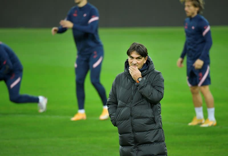 FILE PHOTO: Croatia Training