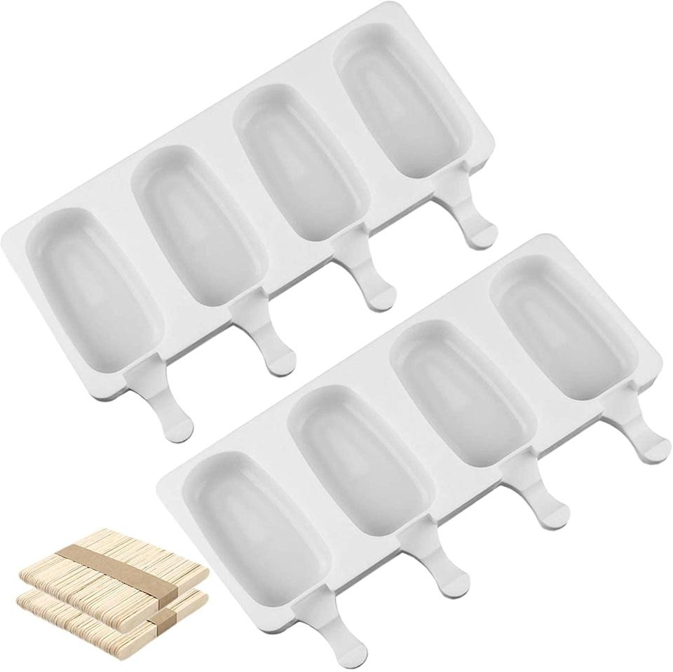 <p>Cool off in the summer and enjoy homemade ice cream pops with the <span>Joho Baking Mini Ice Cream Molds Set of 2</span> ($6, originally $12).</p>