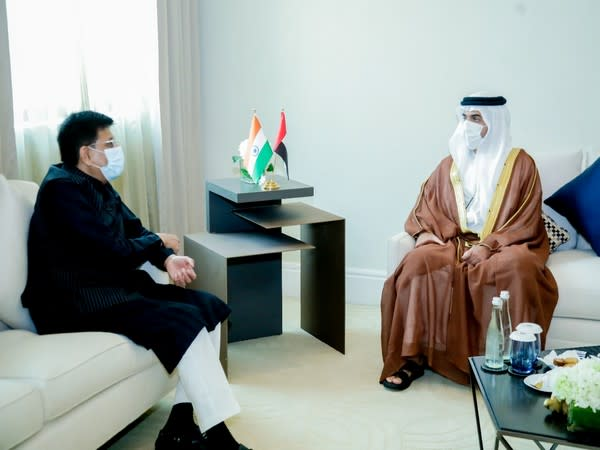 The ninth meeting of UAE-India High-Level Joint Task Force on Investments was held on Saturday.