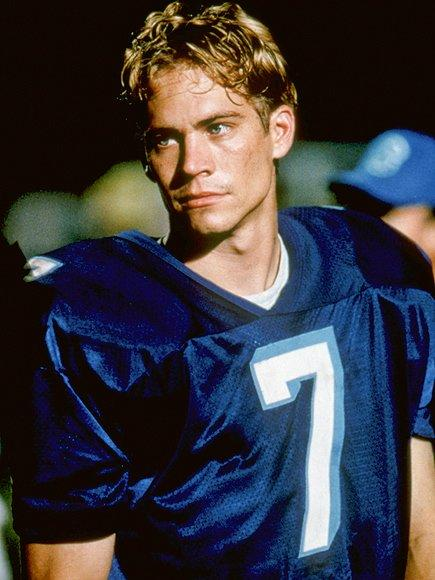 """""""Goin' back to high school was dope,"""" Walker told <a href=""""http://www.ign.com/articles/2001/06/21/interview-with-paul-walker"""">IGN</a> of playing football quarterback Lance Harbor, who loses his star status (but not his blue-eyed dreaminess) in the coming-of-age film. """"All summer long, I worked with like 40 ... real hot cheerleaders. They were all college-aged, too, at that point. That was a blast. I mean I loved it. I didn't have a prom and I got to play the meathead jock that I hated in high school."""""""