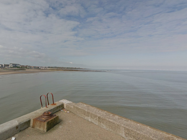 Authorities are searching for a man who reportedly fell overboard around Margate Habour: Google Maps