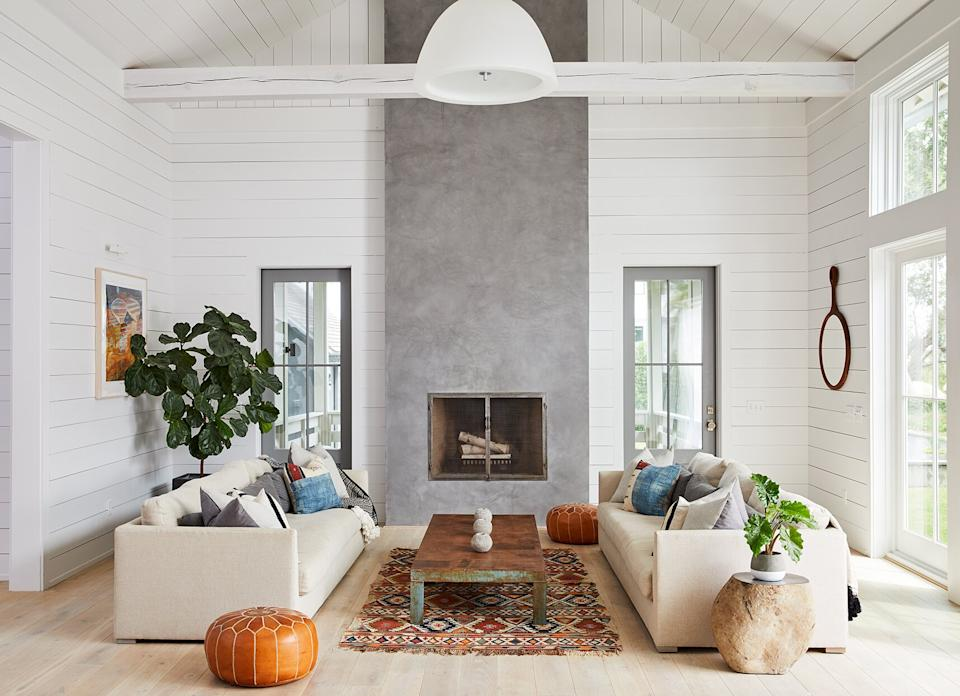 15 Farmhouse Living Room Ideas That