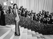 <p>The Insta-famous model's custom La Perla gown for this year's Met Ball featured over 85,000 Swarovski crystals.</p>