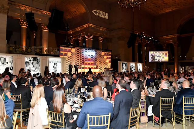 Guests attend Pencils Of Promise 2019 Gala: An Evolution Within at Cipriani Wall Street in New York City. (Photo by Slaven Vlasic/Getty Images for for Pencils Of Promise)