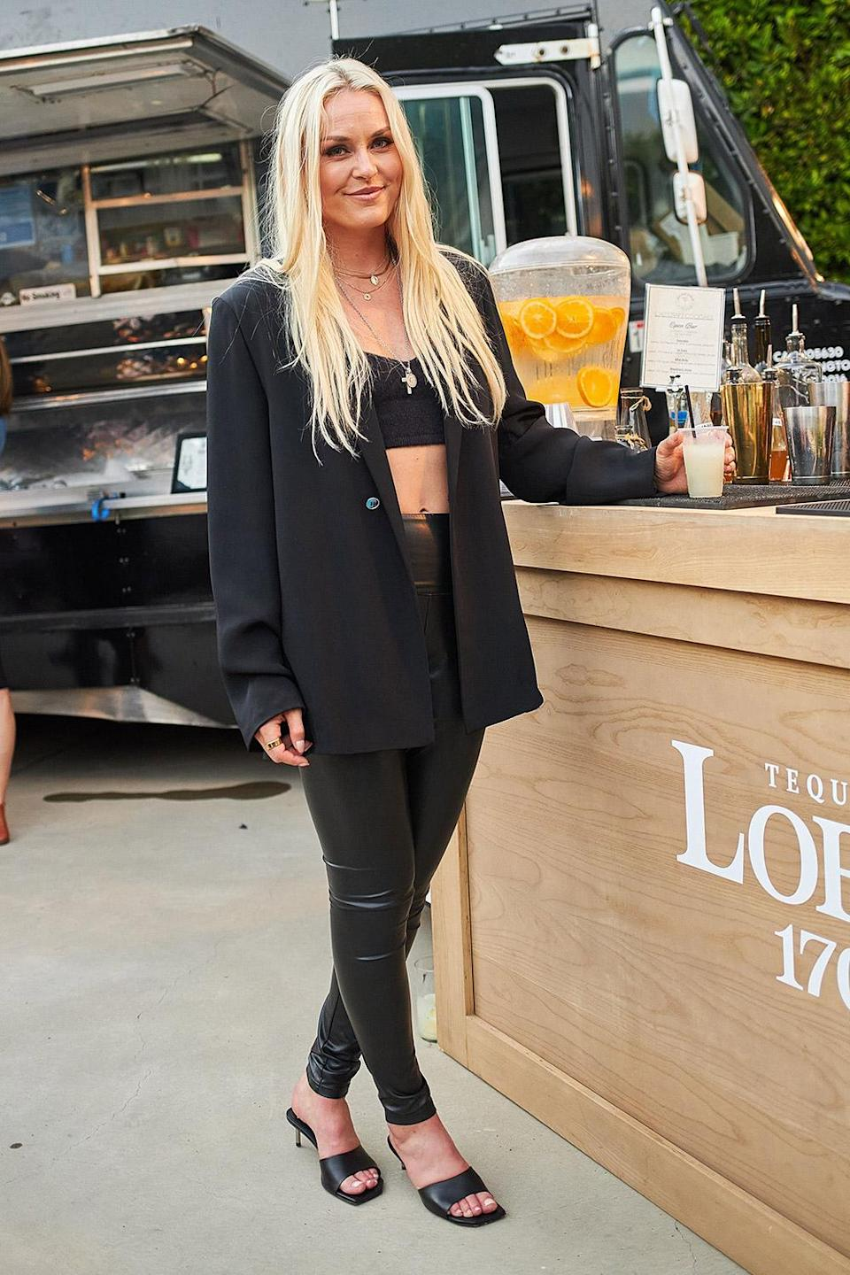 <p>Lindsey Vonn hosts an intimate housewarming party at her new home in L.A. with a Lobos 1707 Tacos & Tequila theme, courtesy of her new beau, the brand's founder and chief creative officer, Diego Osorio. </p>