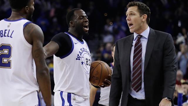 <p>According to Mychal Thompson, the Warriors and Lakers will face off in late May...</p>