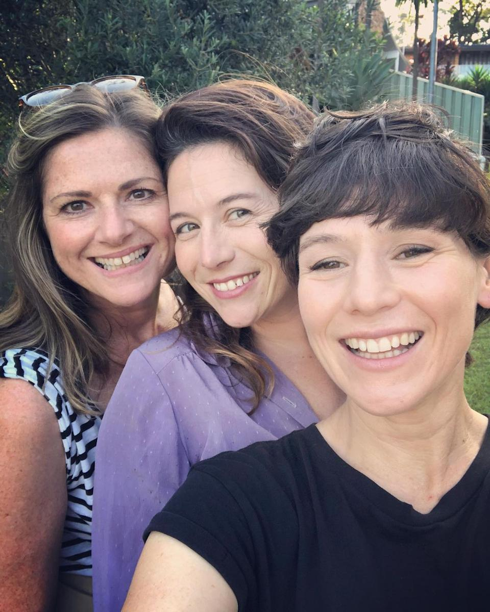 Elana Stone and Yael Stone with Home Delivery host Julia Zemiro