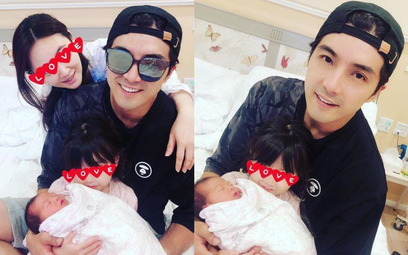 <p>Ho, who has a daughter, surprised his fans by announcing on Tuesday that his second daughter just came to this world.(圖/賀軍翔臉書 | Courtesy of Mike Ho)</p>