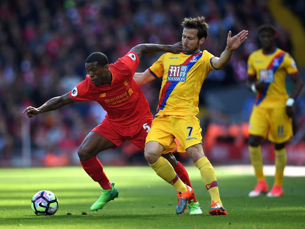 Yohan Cabaye made the most of James Milner's excursion up field (Getty)