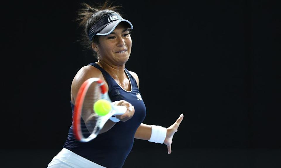 Heather Watson said she needed to 'recharge' and spend some time at home after her loss to Marcela Zacarías.