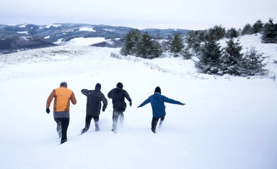 <em>Prolonged – the cold conditions could last well in March, the Met Office has predicted</em>