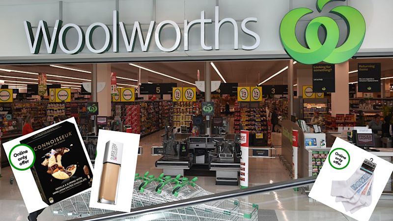 Woolworths' Online Super Sale. Source: Getty/Woolworths