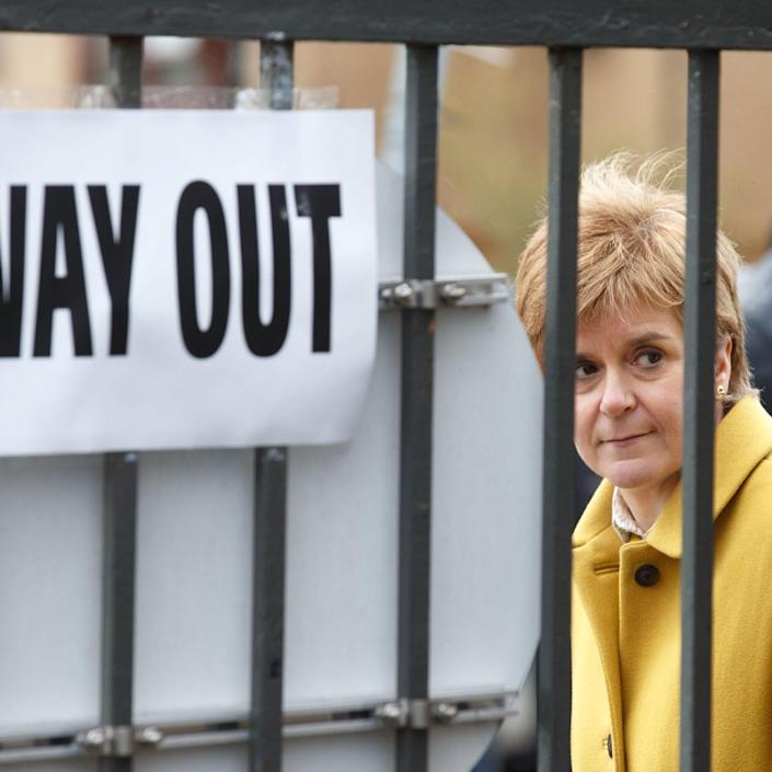 We may not learn until tomorrow whether Nicola Sturgeon has secured a majority in Holyrood - Shutterstock