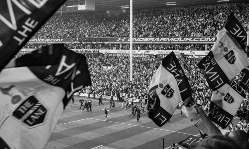 A fan's-eye view at the football – a photo essay