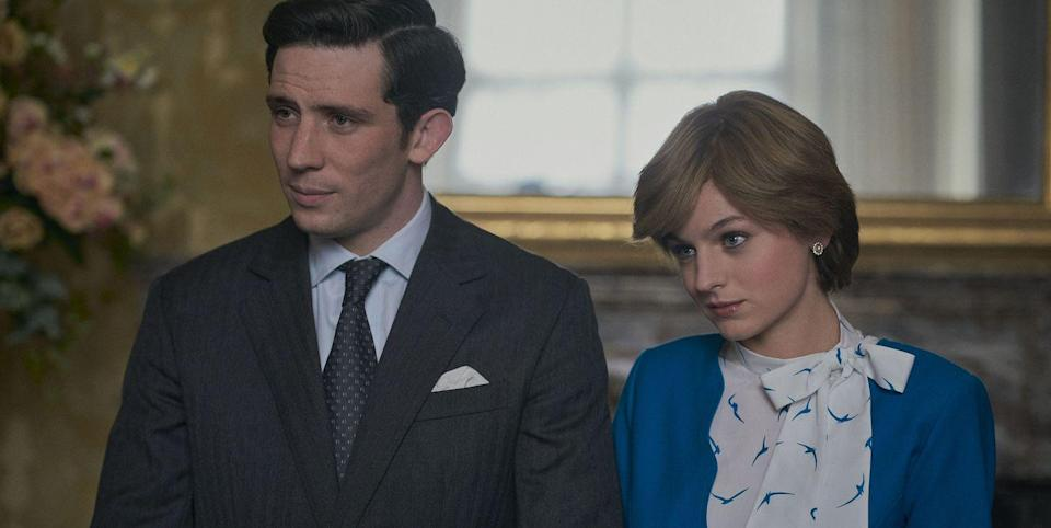 """The Crown's Emma Corrin Has a Lot of """"Sympathy"""" for Princess Diana"""