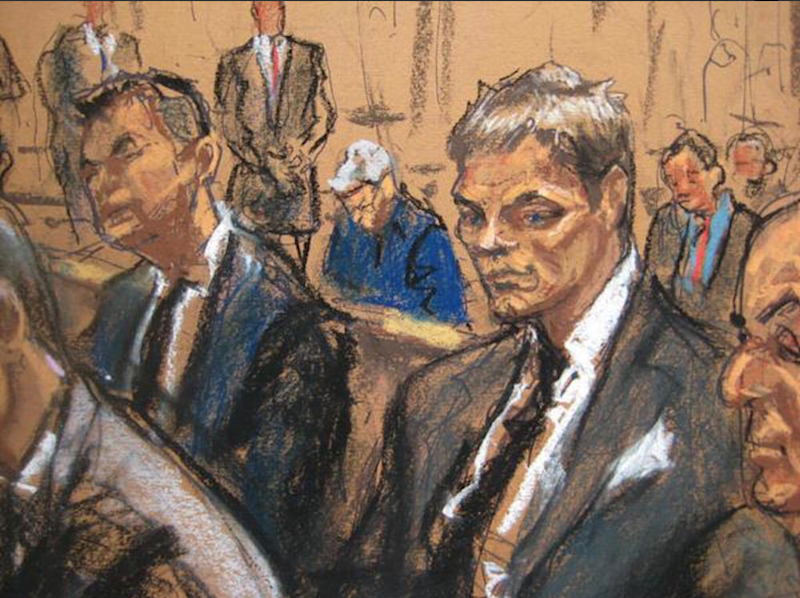 """Veteran courtroom artist Jane Rosenberg turned Tom Brady's """"Deflategate"""" hearing into even more of a sensation in 2015 when her she deflated the famous hunk and husband of Gisele into something of a hardened, tan Gollum in her courtroom sketch—to the internet's delight, and seemingly endless memes."""