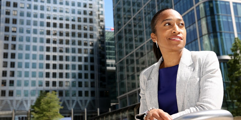 Leila Thomas, seconded CEO and founder, Urban Synergy Talent, Refinitiv, an London Stock Exchange Business