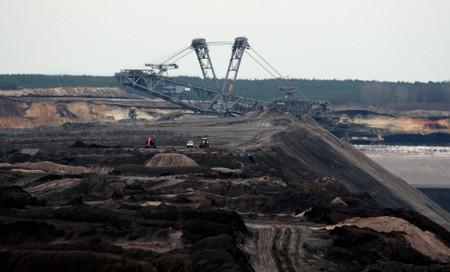 The Welzow-Sued opencast lignite mine operated by Lausitz Energie Bergbau AG is pictured in Welzow, Germany