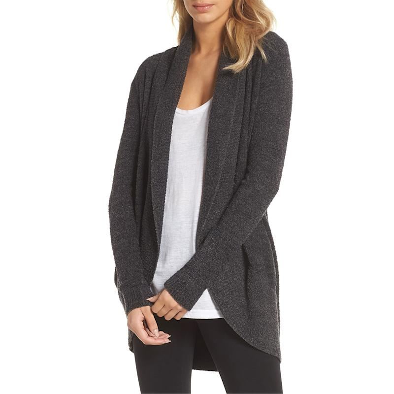 Barefoot Dreams CozyChic Lite Circle Cardigan. (Photo: Nordstrom)